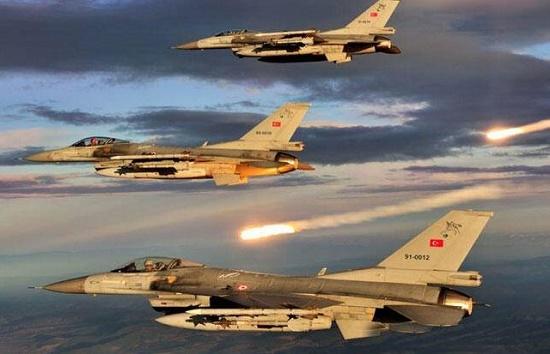Quân đội Thổ Nhĩ Kỳ tiến hành công kích căn cứ Kurd ở miền bắc Syria - Ảnh 1