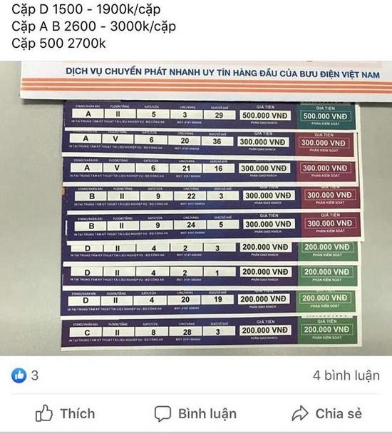Vé chợ đen trận Việt Nam gặp Malaysia tăng gấp bao nhiêu lần? - Ảnh 1