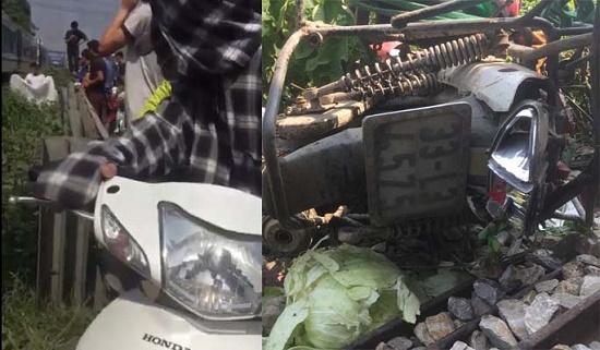 Hà Nội: Băng qua đường sắt, người phụ nư bị tàu hỏa đâm tử vong thương tâm - Ảnh 1