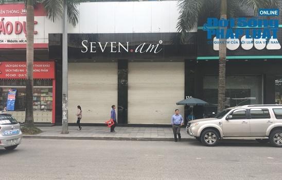 Cửa hàng Seven.AM sau nghi vấn cắt mác Trung Quốc: Nơi đóng kín, nơi mở cửa nhưng tạm dừng bán hàng - Ảnh 2