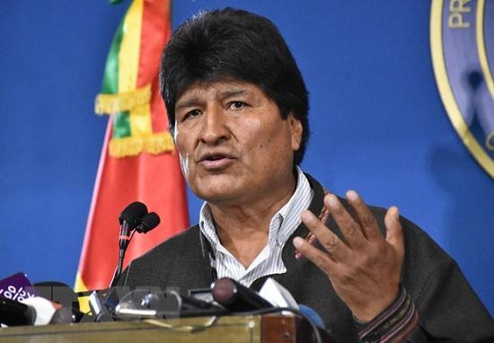 Tổng thống Bolivia gửi thư từ chức sau gần 14 năm cầm quyền - Ảnh 1