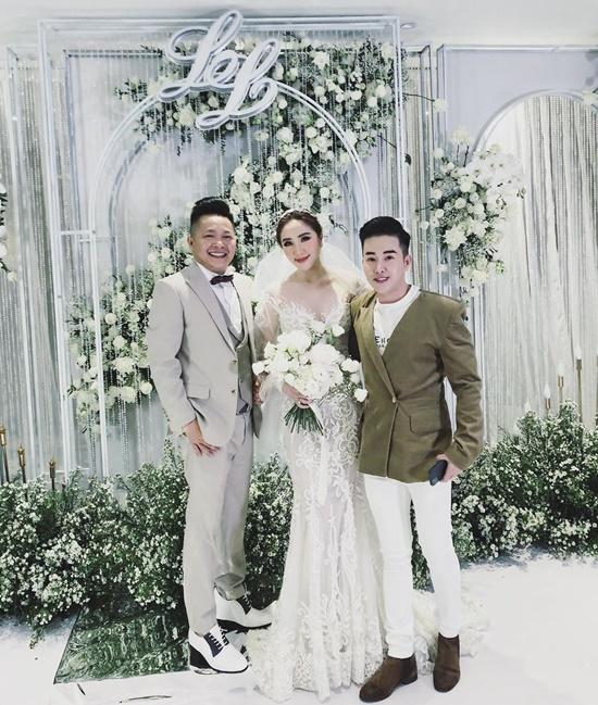 Những điểm đặc biệt bất ngờ của 3 chiếc váy Bảo Thy diện trong ngày cưới - Ảnh 3