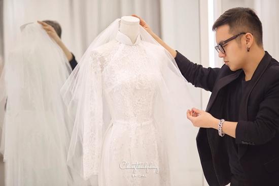 Những điểm đặc biệt bất ngờ của 3 chiếc váy Bảo Thy diện trong ngày cưới - Ảnh 8