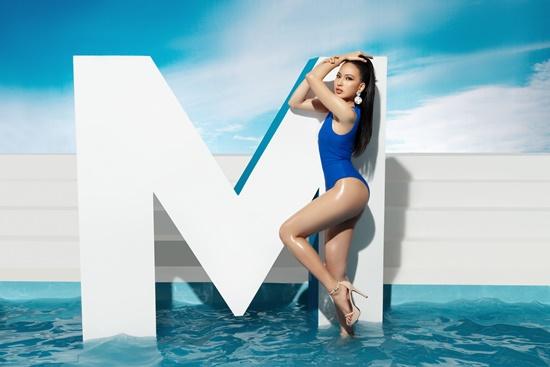 Hé lộ bộ ảnh Glamshot Hoa hậu Hoàn vũ Việt Nam 2019 lấy cảm hứng từ Nữ thần Hy Lạp - Ảnh 6