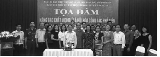 Hội Luật gia tỉnh Nghệ An tổ chức hội nghị tập huấn và tọa đàm - Ảnh 1