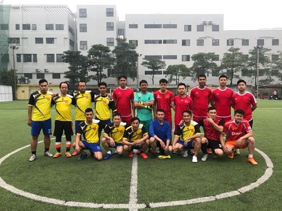 Giải bóng đá tranh Cúp mùa Xuân 2019 - Ảnh 6