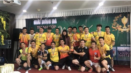 Giải bóng đá tranh Cúp mùa Xuân 2019 - Ảnh 8