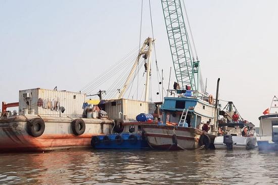 Tìm thấy thi thể cuối cùng vụ 3 thợ lặn mất tích ở Cần Giờ - Ảnh 1