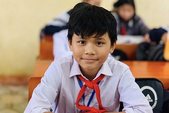 Hà Tĩnh: Nhặt được ví hơn 18 triệu đồng, nam sinh lớp 6 tìm cách trả lại người mất - Ảnh 1