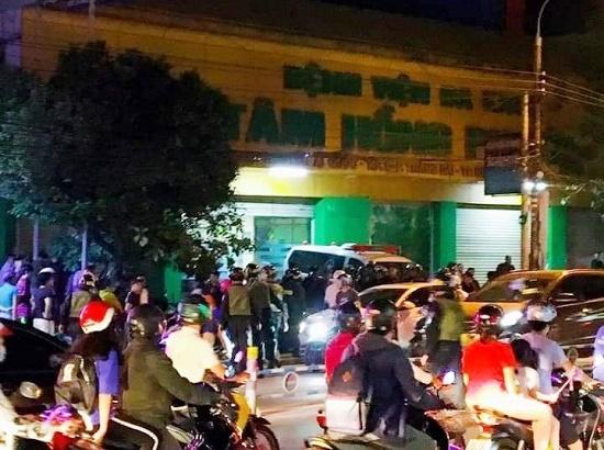 Hơn 100 cảnh sát vây ráp nhóm tín dụng đen khống chế giám đốc bệnh viện ở Đồng Nai  - Ảnh 2