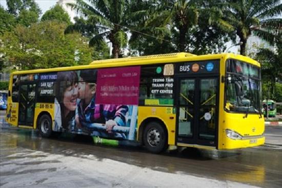 Đấu giá quảng cáo trên xe buýt để thu 135 tỷ/năm: Tiếp tục thất bại lần thứ 5 - Ảnh 1