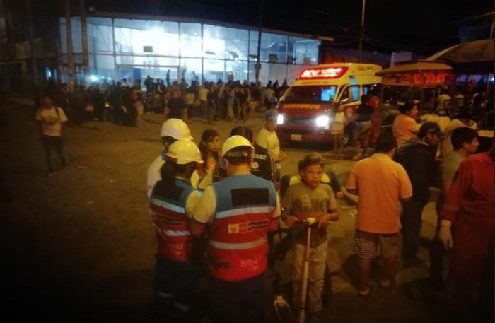 Peru: Xe buýt bất ngờ bốc cháy, ít nhất 30 người thương vong - Ảnh 1