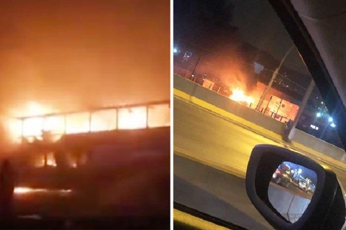 Peru: Xe buýt bất ngờ bốc cháy, ít nhất 30 người thương vong - Ảnh 2