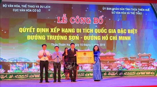 Đường Trường Sơn - đường Hồ Chí Minh là Di tích Quốc gia đặc biệt - Ảnh 1
