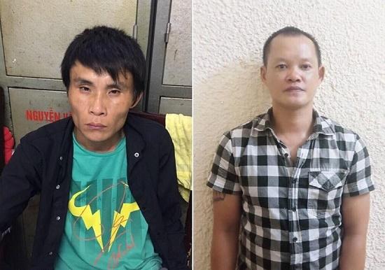 Bắt giữ nhóm đối tượng chuyên cướp giật trước cửa ngân hàng tại Hà Nội - Ảnh 1