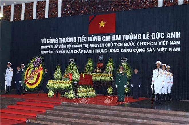Cử hành trọng thể Lễ Quốc tang nguyên Chủ tịch nước, Đại tướng Lê Đức Anh - Ảnh 1
