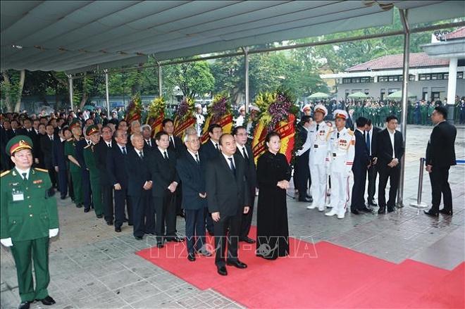 Cử hành trọng thể Lễ Quốc tang nguyên Chủ tịch nước, Đại tướng Lê Đức Anh - Ảnh 3