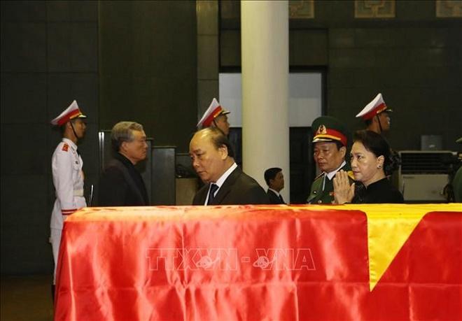 Cử hành trọng thể Lễ Quốc tang nguyên Chủ tịch nước, Đại tướng Lê Đức Anh - Ảnh 5