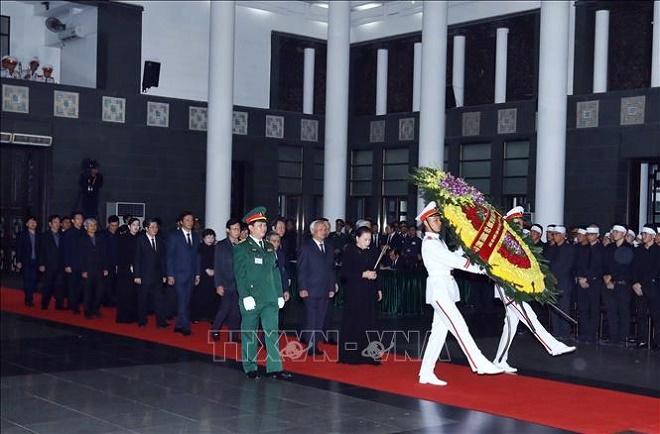Cử hành trọng thể Lễ Quốc tang nguyên Chủ tịch nước, Đại tướng Lê Đức Anh - Ảnh 7