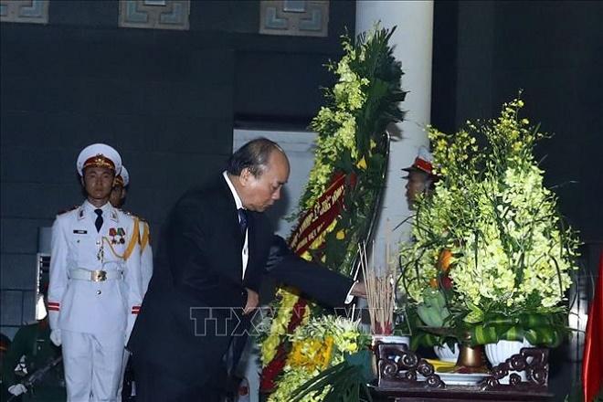 Cử hành trọng thể Lễ Quốc tang nguyên Chủ tịch nước, Đại tướng Lê Đức Anh - Ảnh 8