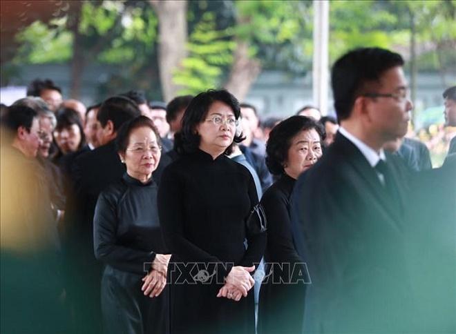 Cử hành trọng thể Lễ Quốc tang nguyên Chủ tịch nước, Đại tướng Lê Đức Anh - Ảnh 9