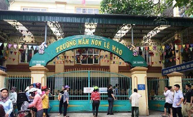 Hỏa hoạn tại trường mầm non ở Nghệ An, hàng trăm người nháo nhào tìm con - Ảnh 1