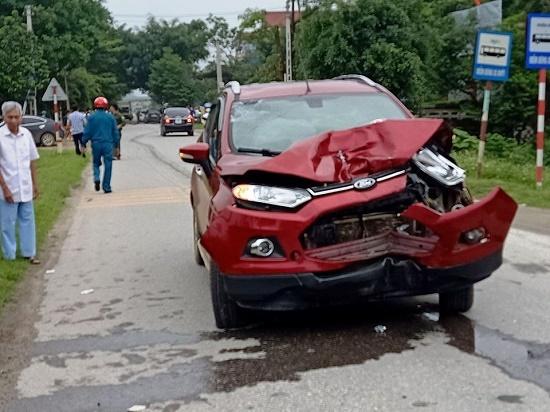 Vụ tai nạn 3 người thương vong tại Thanh Hóa: Tạm đình chỉ thiếu úy công an - Ảnh 1