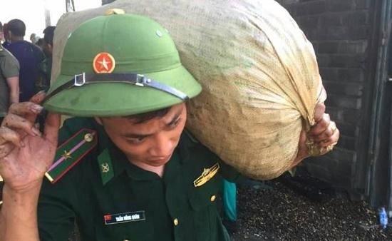 Cháy lớn ở xưởng lạc tại Hà Tĩnh, thiệt hại lên đến 10 tỉ đồng - Ảnh 4