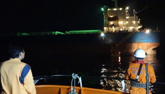 Trắng đêm giải cứu thuyền viên Philippines gặp nạn trên vùng biển Đà Nẵng - Ảnh 1