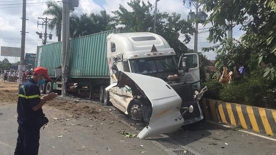 Vụ container tông nát ô tô tại Tây Ninh: Số nạn nhân tử vong tăng lên 5 người - Ảnh 2