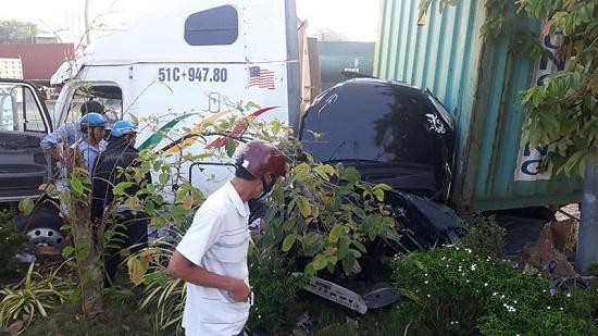 Vụ container tông nát ô tô tại Tây Ninh: Số nạn nhân tử vong tăng lên 5 người - Ảnh 6