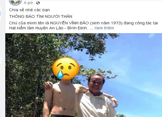 Bình Định: Tìm thấy thi thể kiểm lâm mất tích bí ẩn trong rừng keo - Ảnh 2