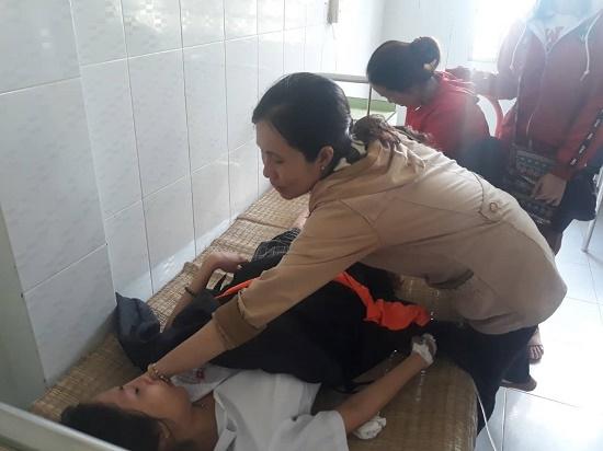 Hà Nội: Nam sinh bị xe bồn tông gãy chân trên đường đi thi về - Ảnh 2