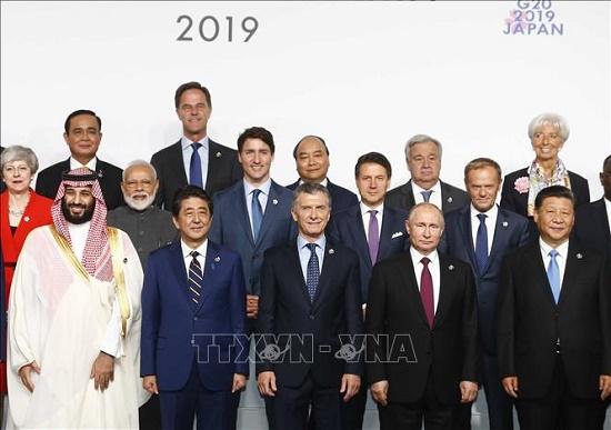 Thủ tướng Nguyễn Xuân Phúc dự Hội nghị cấp cao G20 - Ảnh 2