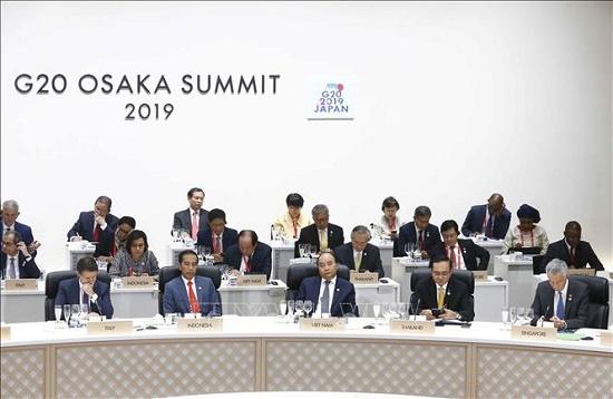 Thủ tướng Nguyễn Xuân Phúc dự Hội nghị cấp cao G20 - Ảnh 4