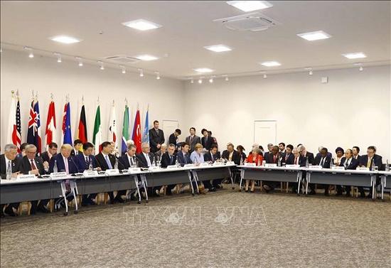 Thủ tướng Nguyễn Xuân Phúc dự Hội nghị cấp cao G20 - Ảnh 7