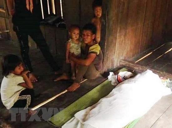 Ba cháu bé tử vong do đuối nước thương tâm tại ao đất - Ảnh 2
