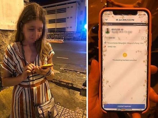 Grab tiết lộ thông tin bất ngờ vụ tài xế bị tố giật điện thoại của du khách nước ngoài - Ảnh 1