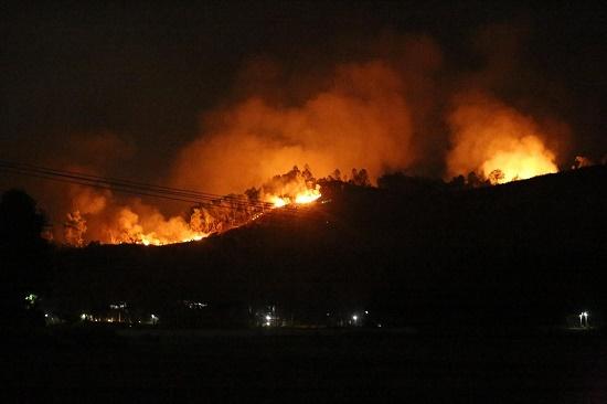 Tiếp tục cháy rừng tại Hà Tĩnh, hàng trăm người căng mình dập lửa - Ảnh 1