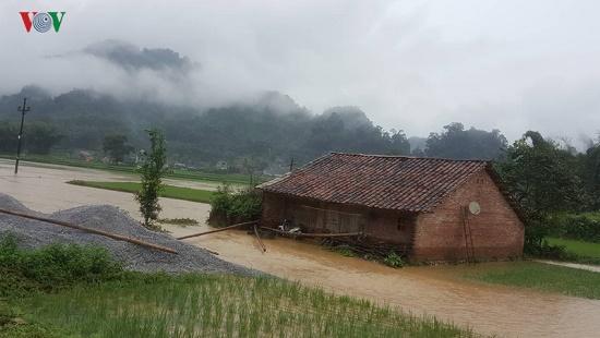 Mưa lớn gây nhiều thiệt hại ở Cao Bằng, hơn 900 ngôi nhà bị ngập lụt - Ảnh 4