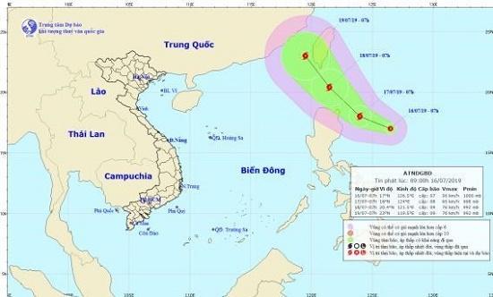 Xuất hiện áp thấp nhiệt đới gần Biển Đông, có thể mạnh lên thành bão - Ảnh 1