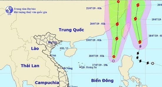 Bão Danas chưa tan, Biển Đông xuất hiện thêm áp thấp nhiệt đời - Ảnh 1