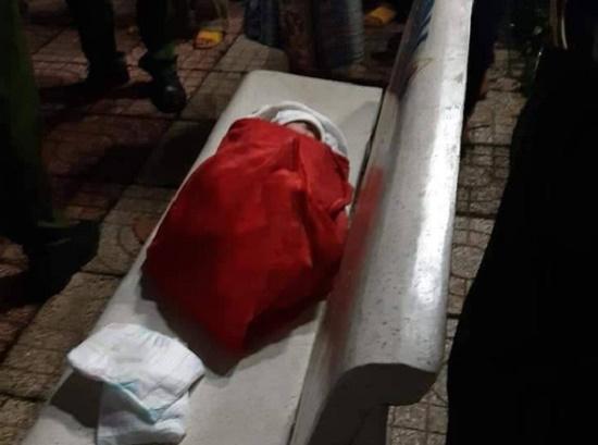 Phát hiện bé gái 1 tuần tuổi bị bỏ rơi trong hoa viên sau cơn mưa đêm - Ảnh 1
