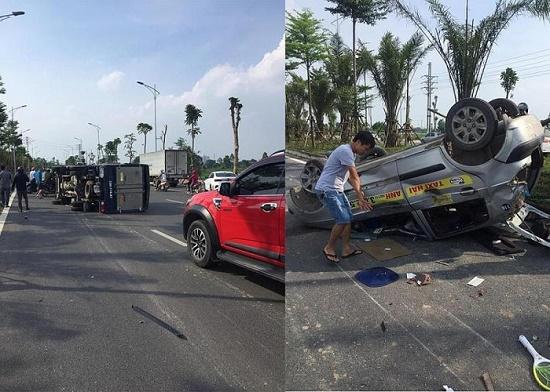 Hé lộ danh tính tài xế gây tai nạn liên hoàn rồi bỏ trốn tại Hà Nội - Ảnh 1