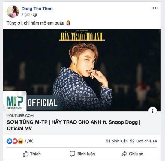 """MV '""""Hãy trao cho anh"""" của Sơn Tùng M-TP khiến dàn hoa hậu """"phát sốt"""" - Ảnh 3"""