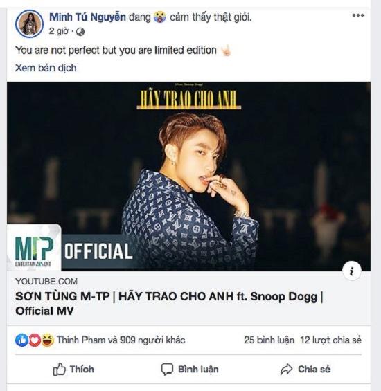 """MV '""""Hãy trao cho anh"""" của Sơn Tùng M-TP khiến dàn hoa hậu """"phát sốt"""" - Ảnh 4"""