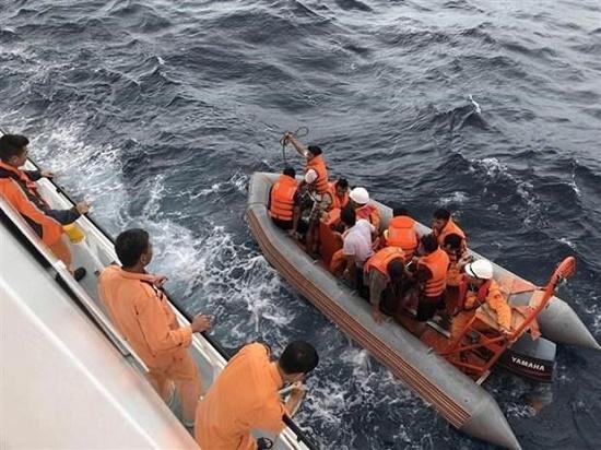 Vụ 9 ngư dân mất tích tại Bạch Long Vỹ: Tiến hành nhận dạng một phần thi thể được tìm thấy - Ảnh 1