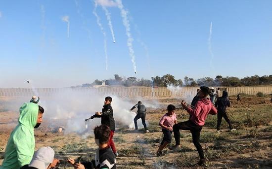 Ít nhất 56 người Palestine thiệt mạng trong cuộc đụng độ với binh sĩ Israel - Ảnh 1