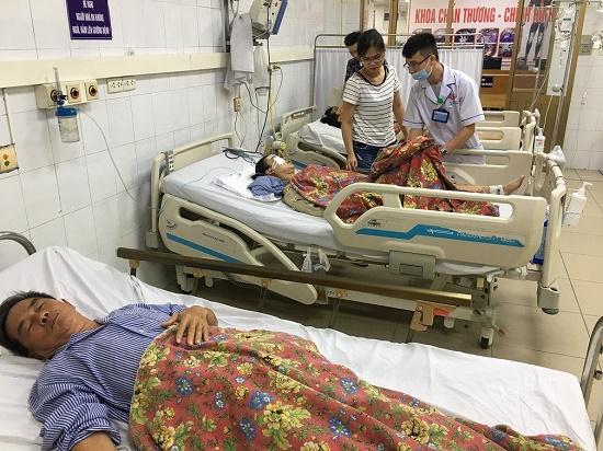 """Vụ xe khách tông 5 người thương vong ở Quảng Ninh: Người cựu chiến binh kể lại phút thoát khỏi """"tử thần"""" - Ảnh 1"""
