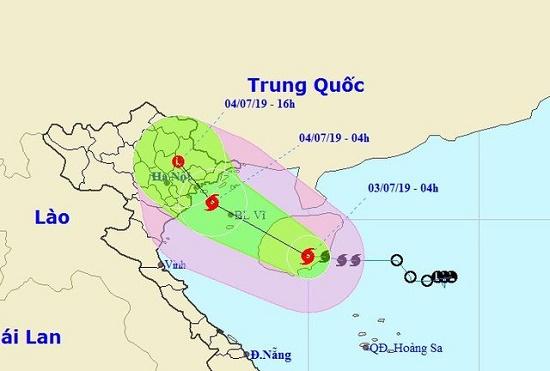 Bộ trưởng Nguyễn Xuân Cường chỉ đạo chủ động phương pháp ứng phó bão số 2 - Ảnh 2